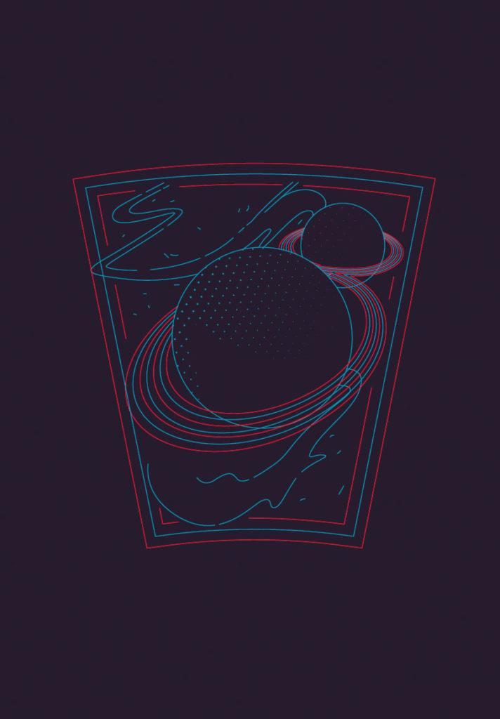 illustration ilustración robenore planetas