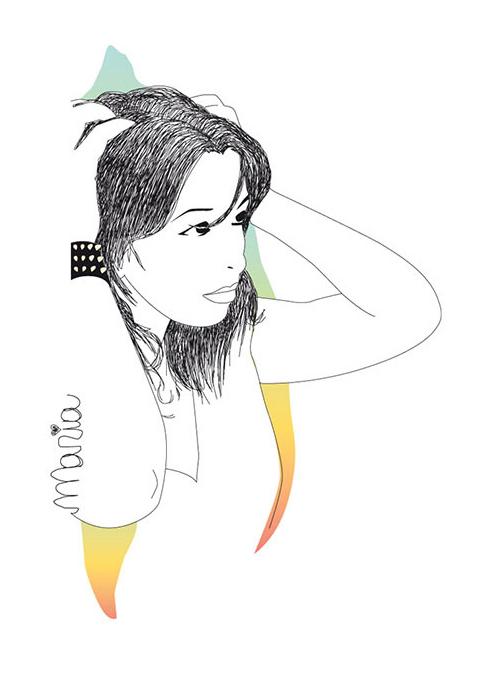illustration ilustración robenore maria