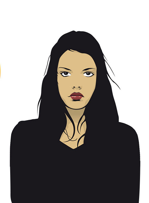 illustration ilustración robenore girl