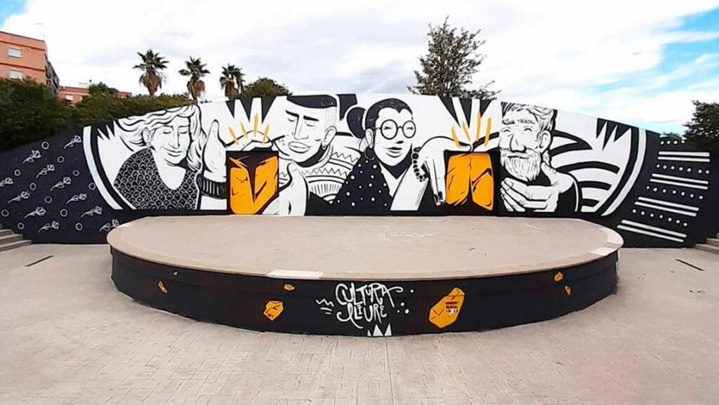 Street art nsn997 Valencia